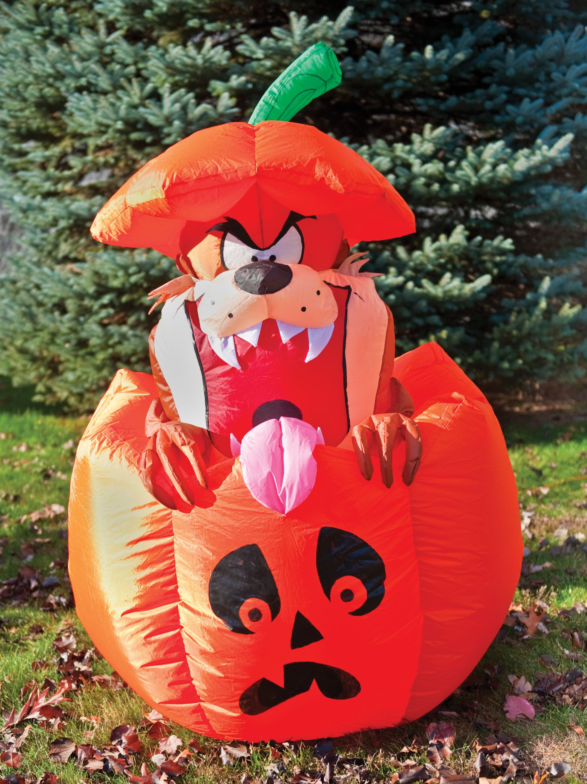tasmanian devil looney tunes inflatable prop - halloween decorations