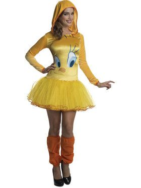 Looney Tunes Tweety Women's Costume