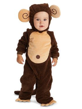 Loveable Monkey Costume For Babies