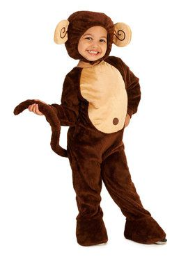 Loveable Monkey Costume For Toddlers