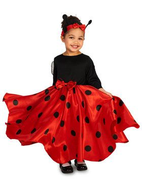 Lucky Ladybug Costume For Toddlers