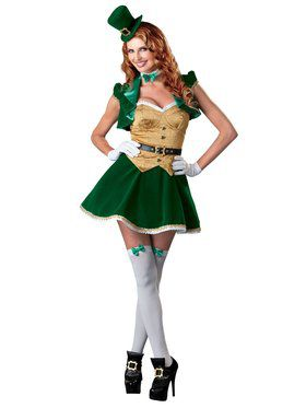 Lucky Lass Adult Costume