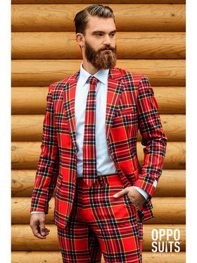 Lumberjack Opposuit Men's Costume