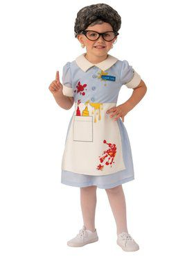 Lunch Lady Child Costume