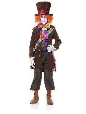Boy's Colorful Mad Hatter Hat