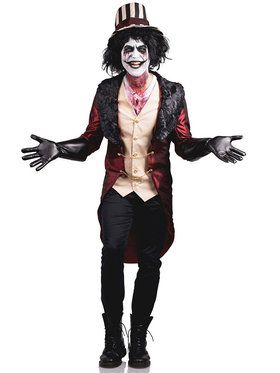 Mad House Ring Master Men's Costume