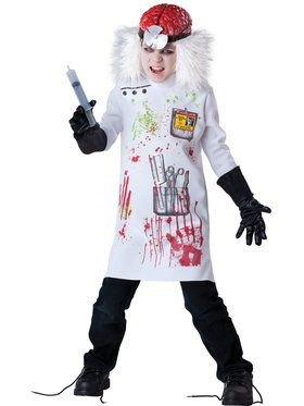 Mad Scientist Boy's Costume