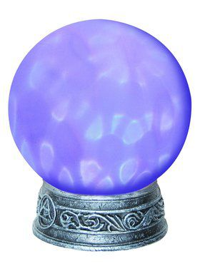 Magic Light Up Crystal Ball Decoration
