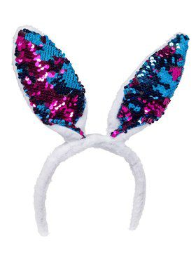 Adult Magic Sequin Bunny Ears