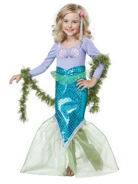 Magical Mermaid Costume Toddler