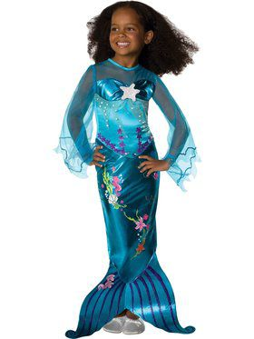Magical Mermaid Girls Costume