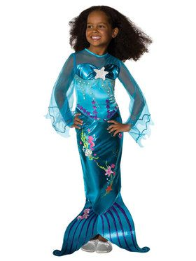 Magical Mermaid Costume For Toddlers