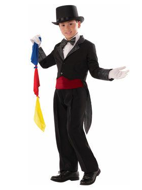 Magician Coat Boy's Costume