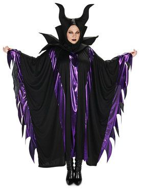 Plus Size Magnificent Witch Costume For Adults