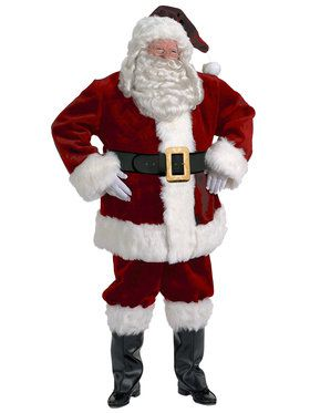 Majestic Santa Suit XXL Men's Costume