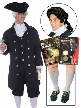 Make a Colonial Zombie Hocus Pocus Character Kit