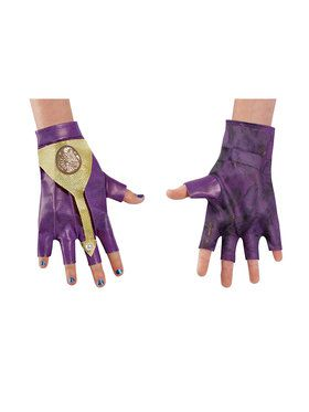 Mal Isle Look Gloves - Disney Descendants 2