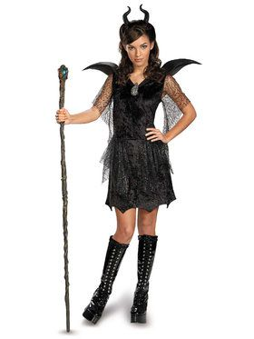 Tween Deluxe Maleficent Black Gown