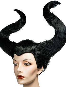 Maleficent Horns Headdress