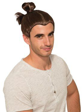 Man Bun Wig for Adults