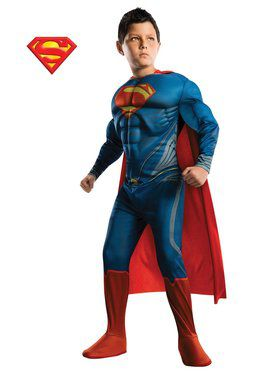 Man of Steel Deluxe Toddler Superman Costume