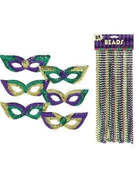Mardi Gras Party Pack Bundle