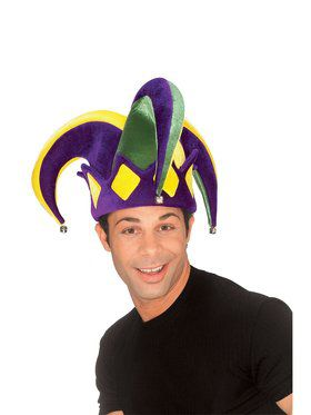 Jester Hat for Mardi Gras