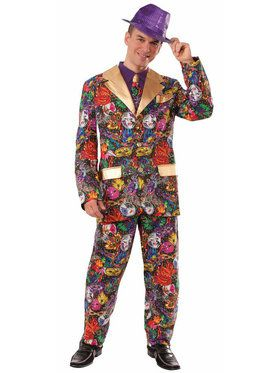 Mardi Gras Suit Adult Costume