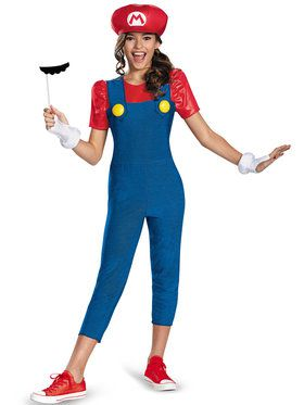 Mario Tween Child Costume