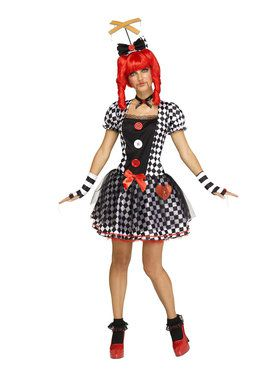 Womens Marionette Doll Costume