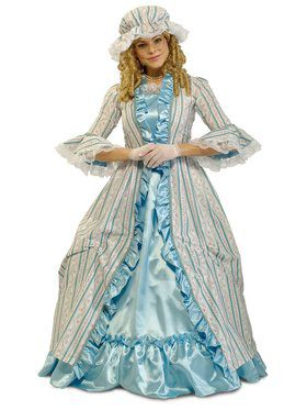 Martha Washington Adult Costume for Women