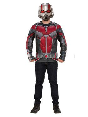 Marvel: Ant-Man & The Wasp Ant-Man Mens Costume Top Set