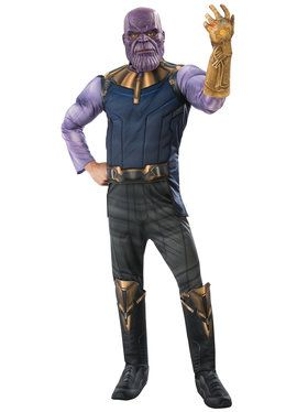 Marvel: Avengers: Infinity War Deluxe Mens Thanos Costume