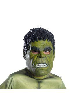 Marvel: Avengers: Infinity War Hulk 3/4 Adult Mask