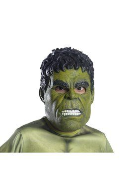 Marvel: Avengers: Infinity War Hulk 3/4 Child Mask