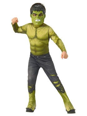 Marvel: Avengers: Infinity War Hulk Boys Costume