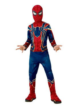 Marvel: Avengers: Infinity War Iron Spider Boys Costume
