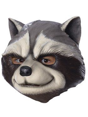 Marvel: Avengers: Infinity War Rocket Raccoon 3/4 Child Mask