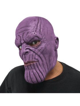 Infinity War Thanos Marvel Avengers 3/4 Adult Mask