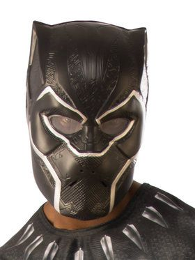 Marvel: Black Panther Movie Black Panther Adult 1/2 Mask