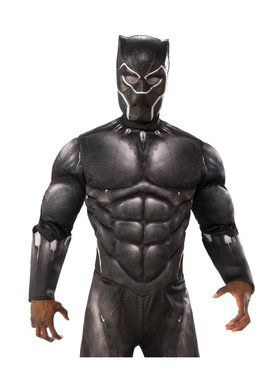 Marvel: Black Panther Movie Adult Black Panther Vinyl 3/4 Mask