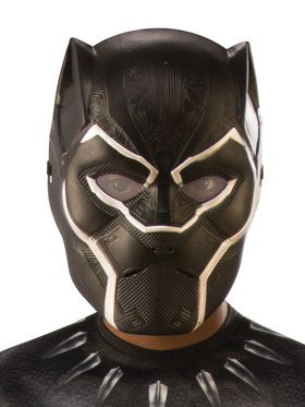 Marvel: Black Panther Movie Child Black Panther 1/2 Mask