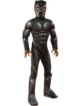 Marvel: Black Panther Movie Deluxe Boys Costume