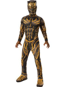 Marvel: Black Panther Movie Deluxe Erik Killmonger Battle Suit Costume