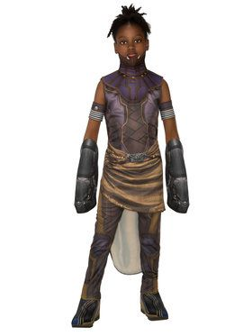 Marvel: Black Panther Movie Deluxe Girls Shuri Costume