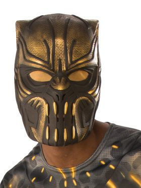 Marvel: Black Panther Movie Adult Erik Killmonger 1/2 Mask