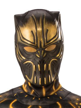 Marvel: Black Panther Movie Child Erik Killmonger 1/2 Mask