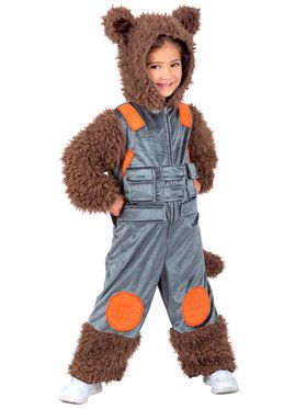 Marvel Rocket Raccoon Child Costume