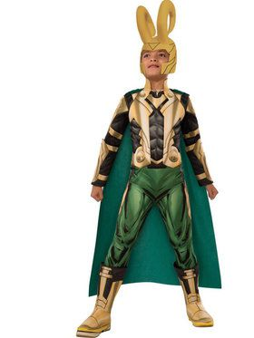 Marvel Deluxe Loki Boy's Costume