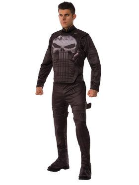 Marvel Deluxe Punisher Men's Costume
